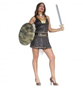Disfraz de Gladiadora Romana