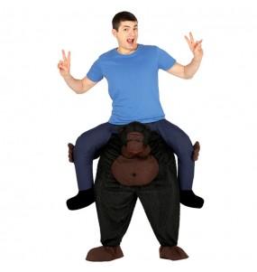 Disfraz de Gorila a hombros adulto