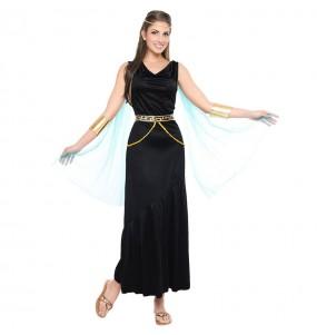 Disfraz de Griega negra para mujer