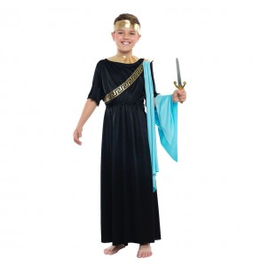 Disfraz de Griego Negro para niño