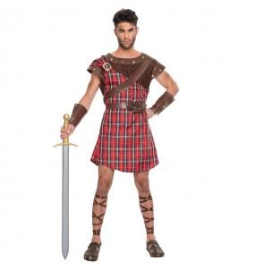 Disfraz de Guerrero Escocés Braveheart para hombre