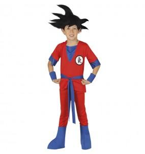 Disfraz de Guerrero Manga niño