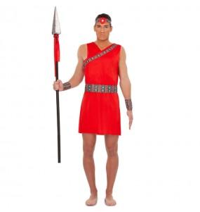 Disfraz de Guerrero Tribu Masái para hombre