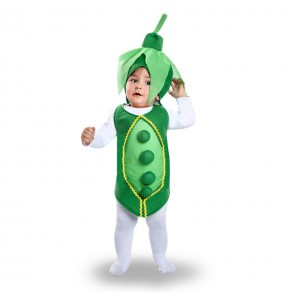 Disfraz de Guisante para bebé