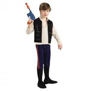 Disfraz de Han Solo Star Wars para niño