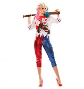 Disfraz de Harley Quinn Barato para Mujer