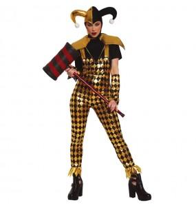 Disfraz de Harley Quinn Birds of Prey para mujer