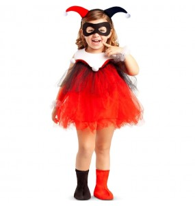 Disfraz de Harley Quinn para bebé