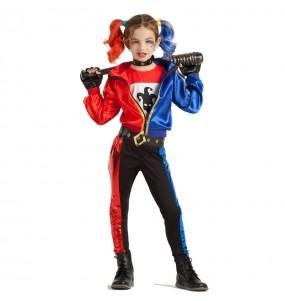 Disfraz de Harley Quinn niña
