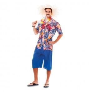 Disfraz de Hawaiano Turista