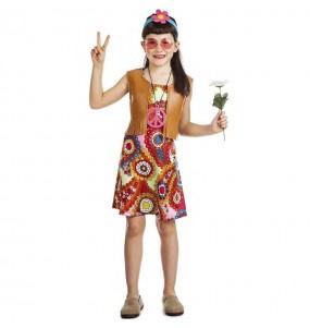Disfraz de Hippie Happy para niña