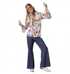 Disfraz de Hippie Peace para hombre