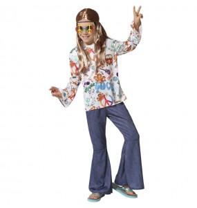 Disfraz de Hippie Peace para niño