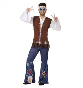 Disfraz de Hippie Sesentero para hombre
