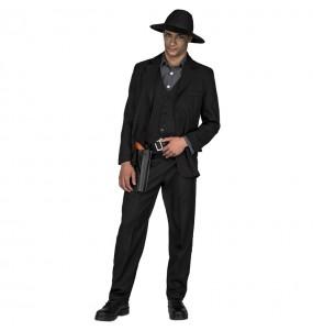 Disfraz de Hombre de Negro de Westworld adulto