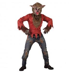 Disfraz de Hombre lobo salvaje para hombre