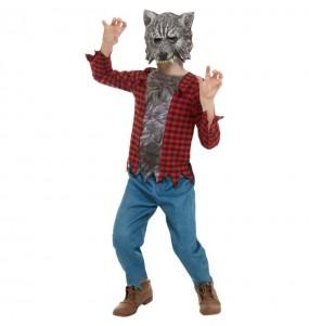 Disfraz de Hombre Lobo salvaje para niño