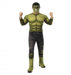 Disfraz de Hulk Endgame para hombre