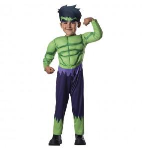 Disfraz de Hulk Marvel para bebé