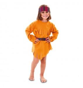 Disfraz de India Indira para niña