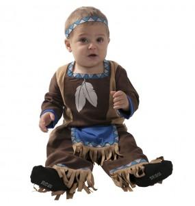 Disfraz de Indio Apache para bebé