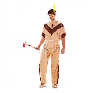 Disfraz de Indio económico para hombre