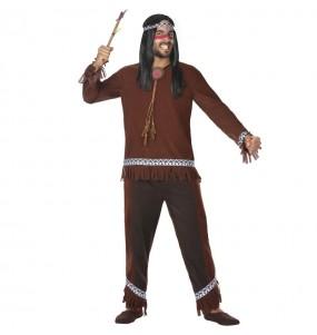 Disfraz de Indio salvaje para hombre