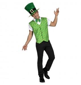 Disfraz de Irlandés Saint Patrick para hombre