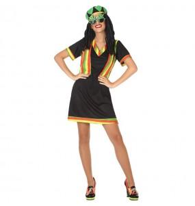 Disfraz de Jamaicana para mujer