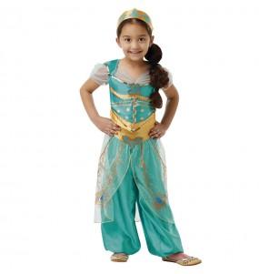 Disfraz de Jasmine Princesa Aladdin para niña