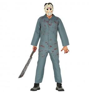 Disfraz de Jason Viernes 13 para adulto
