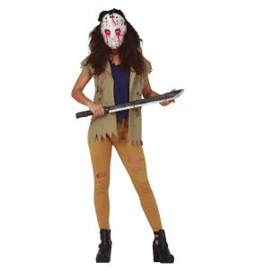 Disfraz de Jason Viernes 13 para mujer