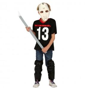 Disfraz de Jason para niño