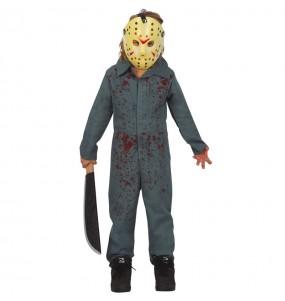 Disfraz de Jason Viernes 13 para niño
