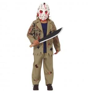 Disfraz de Jason Voorhees para niño
