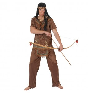 Disfraz de Jefe Indio Marrón