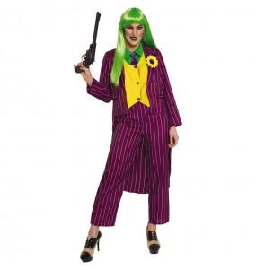 Disfraz de Joker Arkham para mujer