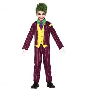 Disfraz de Joker Arkham para niño