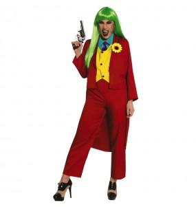 Disfraz de Joker Joaquín Phoenix para mujer