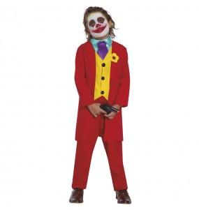 Disfraz de Joker Joaquín Phoenix para niño