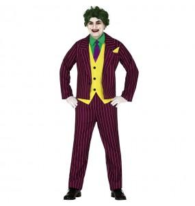Disfraz de Joker Arkham para adulto