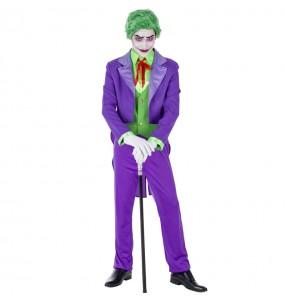 Disfraz de Joker Supervillano para hombre
