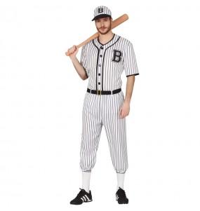 disfraz de jugador beisbol adulto