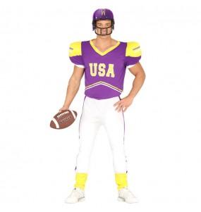 Disfraz de Jugador Fútbol Americano para hombre