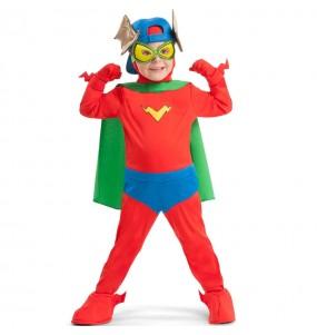 Disfraz de Kid Fury de los SuperZings para niño