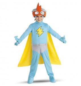 Disfraz de Kid Kazoom de los SuperZings para niño