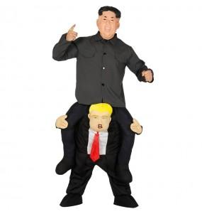 Disfraz de Kim Jong-un a hombros para adulto