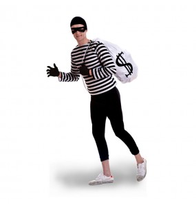 Disfraz de Ladrón de Bancos para hombre
