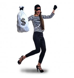 Disfraz de Ladrona de Bancos para mujer