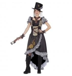 Disfraz de Lady Steampunk para mujer